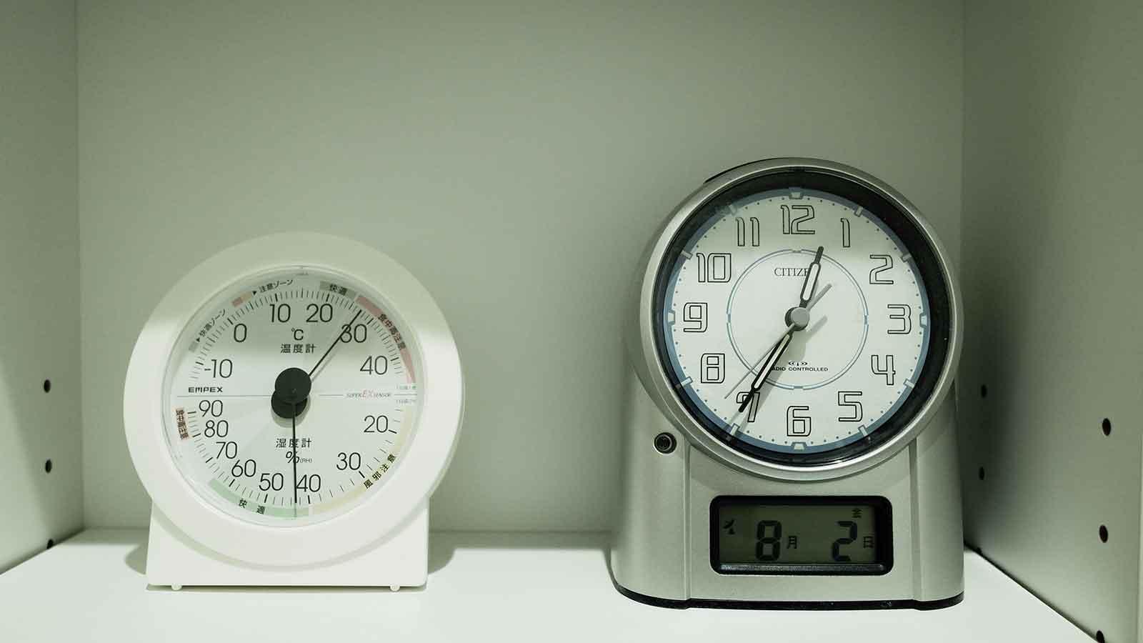 8月1日の深夜の温度が高い