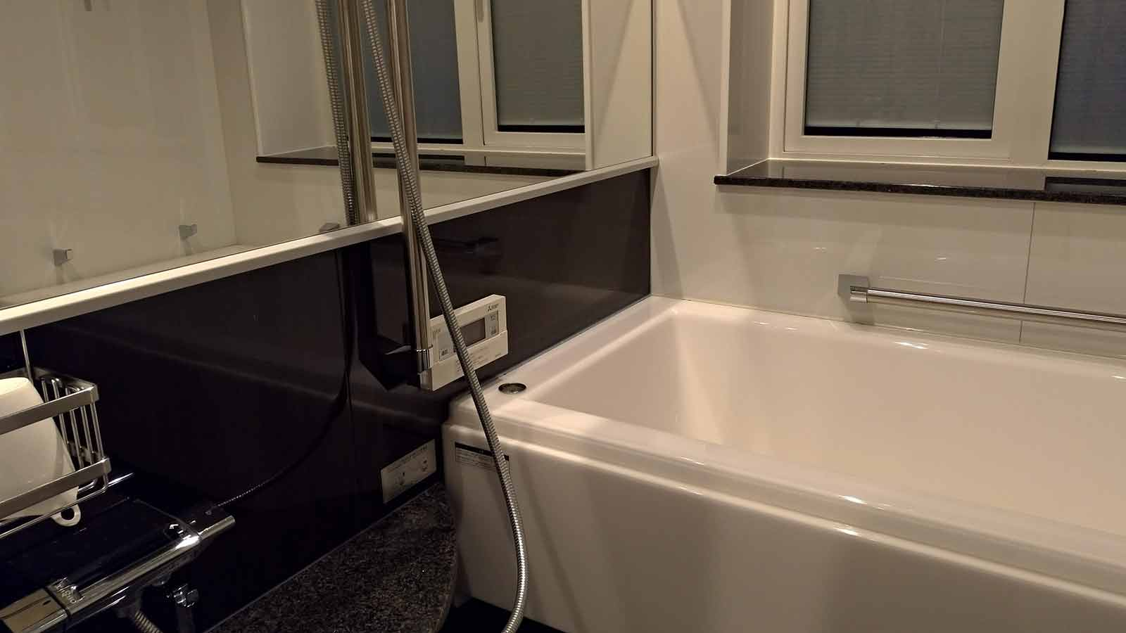 appearance in brown color smart bath 1